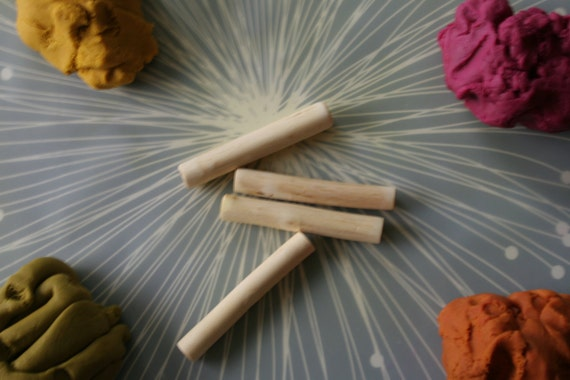 Deluxe Gift Set - All Seven Scents Gluten Free Play Clay, Maple Roller and 3 Cutters READY TO SHIP