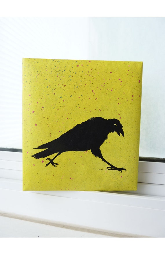 Painted and Screened Photo Album - Crow's Sojourn