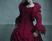 Red Riding Hood Knit Dress