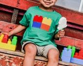 Boy's Locking Blocks T-Shirt