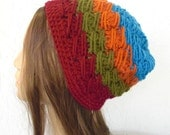 Hand Crochet hat- Cloche hat  in Blue Orange Bordoeux,Olive- Winter Accessories- Valentines day,Mother day,Snow warm- christmas- Fall Autumn