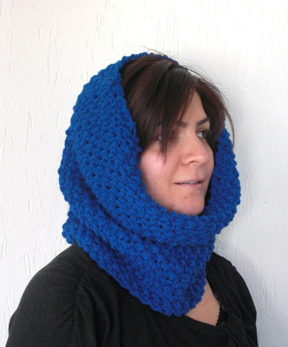 Cowl Knitting Patterns For Beginners : Digital Cowl Knitting Pattern PDF scarf pattern by Ebruk