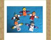 Five Little Scarecrows - Teacher Resources - Felt Set