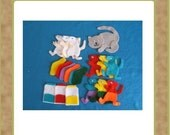 Mouse Paint - Felt Set - Teacher Resources