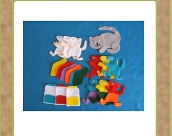Mouse Paint - Felt Set - Teacher Resources