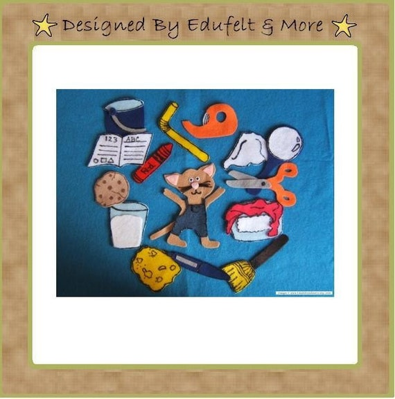 If you Give a Mouse a Cookie - Felt set - Teacher Resources
