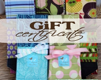 Gift Certificate, One Handmade Camera Strap Plus Shipping