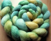 SS Blue Faced Leicester Wool Tops - 'Reptile' - 100g