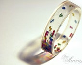 Clearly Tetris bangle.