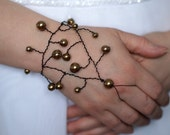 Bronze Glove-Bracelet - Craft Jewelry