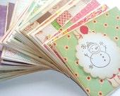 Wholesale // Bulk Sale Lot // Handmade Cards Set of 10 // Christmas Cards // Stocking Stuffers // Gift Set
