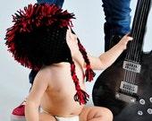Rocker Dude Mohawk Hat  - Great for Photos or Cool, Rockin' Fun