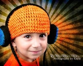 Hey Mr. DJ Headphone Hat - Hip Hop Headphoney Fun for the Whole Family