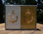 two decks of nautical playing cards