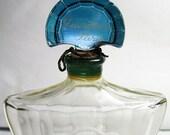 Christmas In July SALE Vintage Shalimar Perfume Bottle - Guerlain Paris