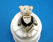 Jointed TEDDY BEAR Brooch