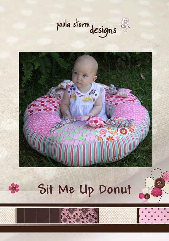 Sit me Up Donut Pattern by Paula Storm Designs
