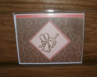 PIF : Wedding Bells Card With Verse printed Inside #3888