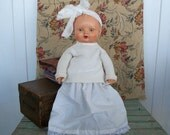 Vintage Rare Minerva Baby Doll Made in Germany