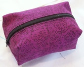 plum bag - small