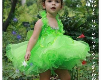 FAIRY Custom Tinkerbell Dress Birthday Costume Pageant Dress