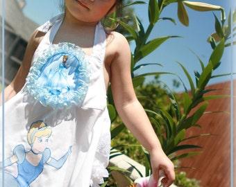 Disney Vacation Dress Birthday Cinderella Halter Sundress 12 months-6 years