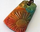 Rustic Sun Sparkles Necklace
