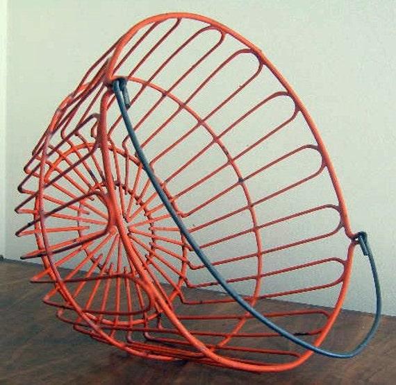 Orange Egg Basket