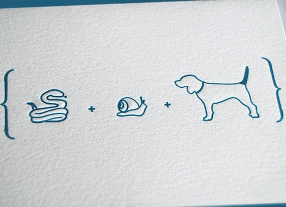 DISCONTINUED: Snakes, Snails & Puppy Dog Tails New Baby Boy Card