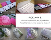 SALE - Sweet Stationery and Gifts - PICK ANY 3