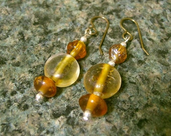 Autumn Gold Earrings