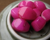 Fuchsia Stone Beads