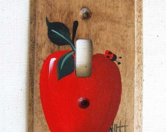 RED APPLE  switchplate