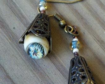 Victorian Murrini Drop Earrings