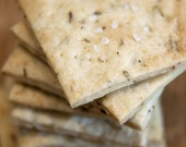 Organic Rosemary & Sea Salt Crackers - 6oz