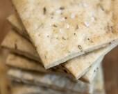 Organic Rosemary & Sea Salt Crackers - 6oz