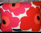 Red Poppy Pieni Unikko Pillow Case, 12 x 16, Finland