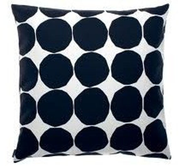 Marimekko Pienet kivet Pillow Cushion Cover, 18 x 18 inches, fully lined, double sided, Finland
