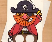 Pirate - Finger puppet Greeting card