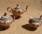 Egyptian Theme Tea Set