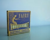 Vintage Fairy Brand Birthday Candles