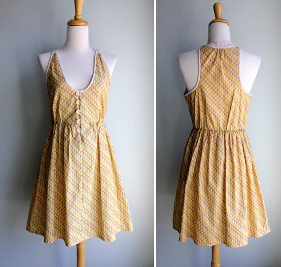 Buttercream Triangle Sun Dress