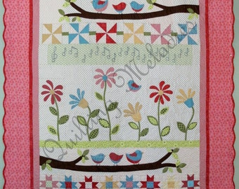 NEW - Springtime Melody Quilt Pattern