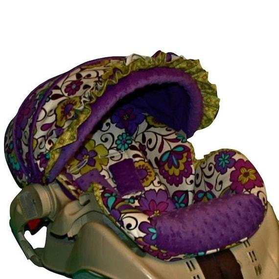 custom infant car seat cover carousel. Black Bedroom Furniture Sets. Home Design Ideas