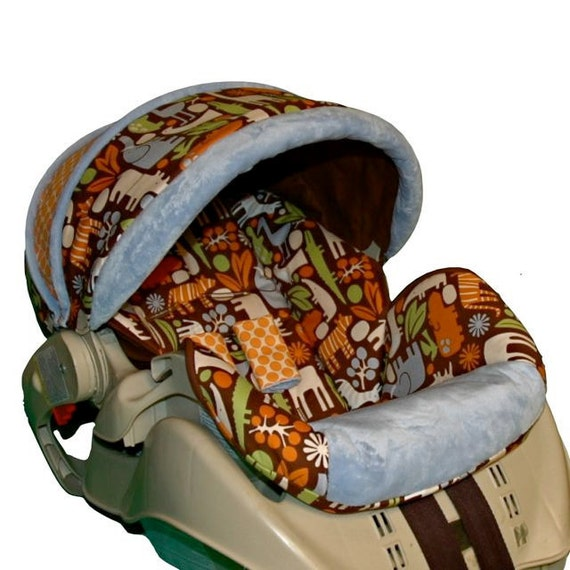 graco snugride custom replacement infant car seat cover brown. Black Bedroom Furniture Sets. Home Design Ideas