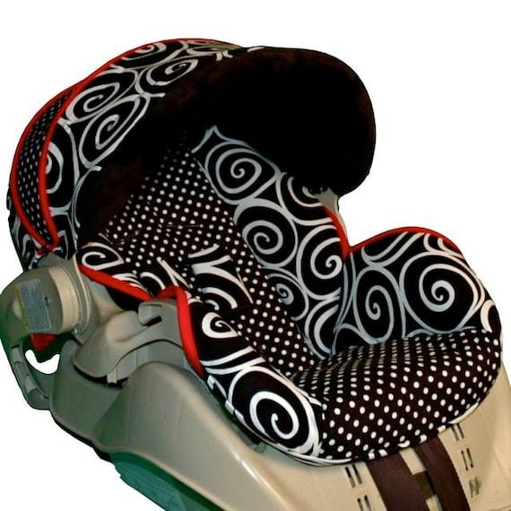 graco snugride custom infant car seat cover modern art. Black Bedroom Furniture Sets. Home Design Ideas