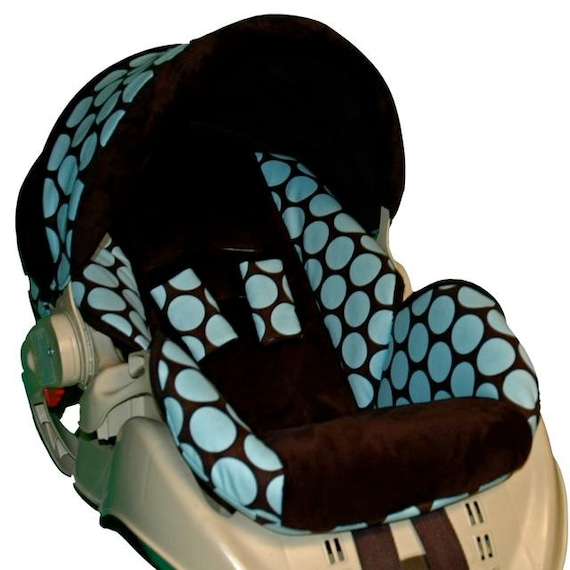Graco Snugride Replacement Infant Car Seat Cover Blue