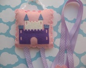Princess Castle Hair Clip and Bow Holder