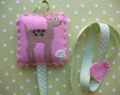 Sweet Little Deer Hair Clip And Bow Holder