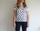 SALE 1990s Graphic Pattern Tee
